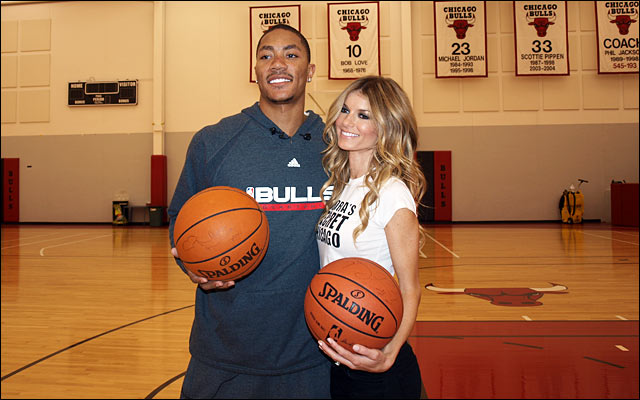 derrick rose girlfriend dana lambert. derrick-rose-girlfriend.