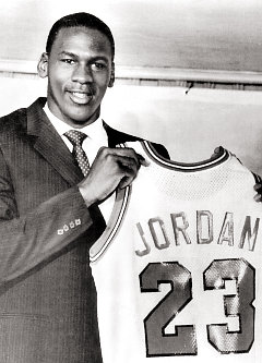 michael jordan draft day