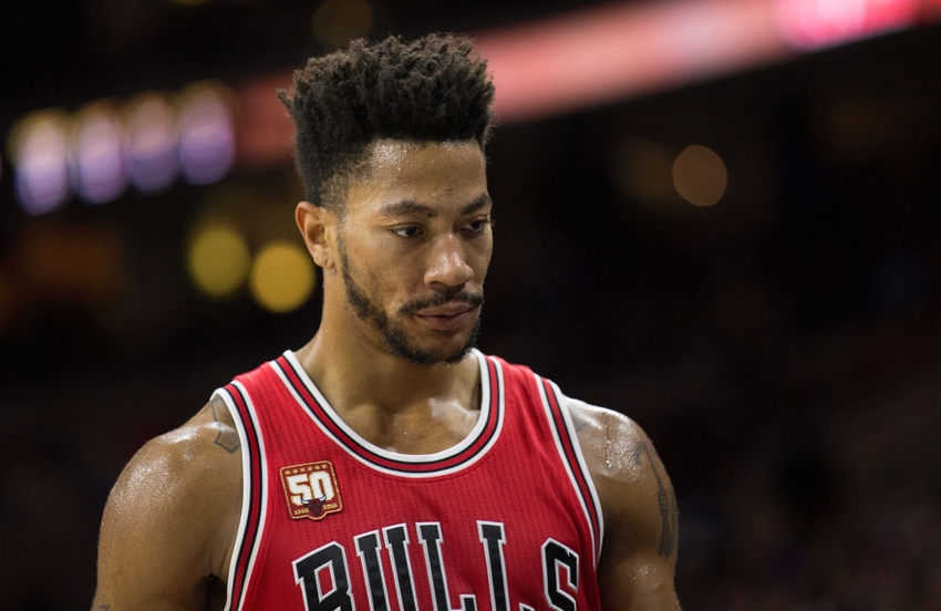 Derrick Rose 2018 Haircut Beard Eyes Weight