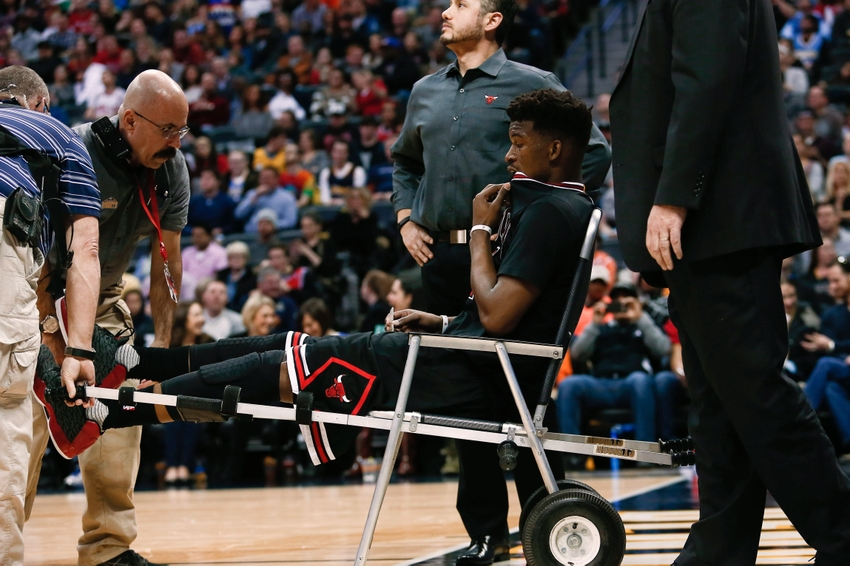 Jimmy Butler S Injury Was A Wrench In A Bad Season For Bulls
