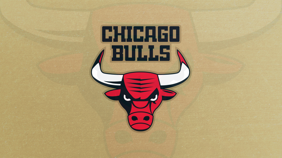 chicago bulls logo gets redesigned with modern bull